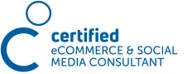 Zertifikat für KMU Digital als Certified eCommerce & Social Media Consultant für Unternehmensberatung mit den Schwerpunkten Businessplan, Förderung, Gesellschaftsvertrag, Digitalisierung, Website, Social Media und Datenschutz im Header