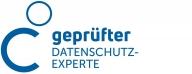 Zertifikat für geprüften Datenschutzexperten für Unternehmensberatung mit den Schwerpunkten Businessplan, Förderung, Gesellschaftsvertrag, Digitalisierung, Website, Social Media und Datenschutz im Header